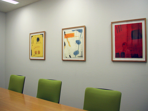オフィスの中のアート_事例4